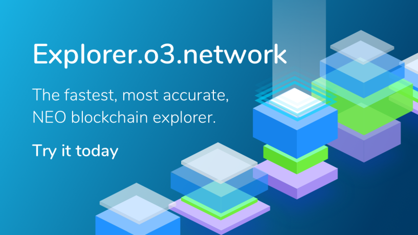 Check out the latest NEO blockchain explorer, built by O3!